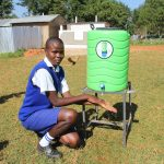 The Water Project: St. Teresa's Isanjiro Girls Secondary School -  Handwashing