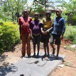 The Water Project: Mahira Community, Jairus Mwera Spring -  Kids With A New Sanitation Platform