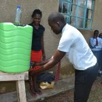 The Water Project: Ebubole UPC Secondary School -  Handwashing Demonstration