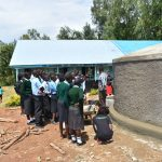 The Water Project: Ebubole UPC Secondary School -  On Maintance Of Rain Tank