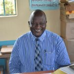 The Water Project: Ebubole UPC Secondary School -  Principal Mr Lutomia