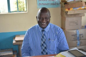 The Water Project:  Principal Mr Lutomia