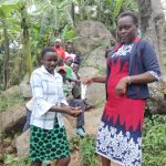 The Water Project: Mahira Community, Kusimba Spring -  Handwashing With Sanitizers