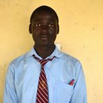 The Water Project: Ebubole UPC Secondary School -  Student Kevin