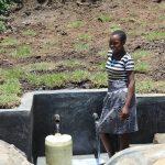 The Water Project: Mahira Community, Jairus Mwera Spring -  Agness Mwaito