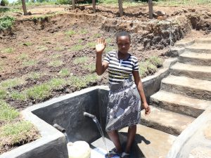 The Water Project:  Agness At The Water Point