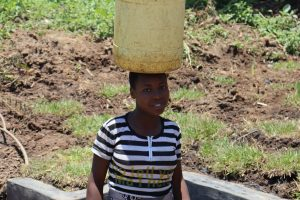 The Water Project:  Agness Ready To Bring Clean Water Home