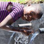 The Water Project: Mahira Community, Jairus Mwera Spring -  A Child Enjoying Water