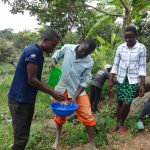 The Water Project: Mahira Community, Kusimba Spring -  Handwashing Demonstration