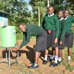The Water Project: Ebubole UPC Secondary School -  Handwashing The Good Practice