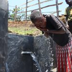 The Water Project: Mahira Community, Jairus Mwera Spring -  Cooling Off