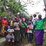 The Water Project: Mahira Community, Kusimba Spring -  Community Members Pose For Pics