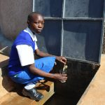 The Water Project: St. Teresa's Isanjiro Girls Secondary School -  A Student Filling A Water Glass