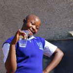 The Water Project: St. Teresa's Isanjiro Girls Secondary School -  Student Aclein Happy For Clean Water