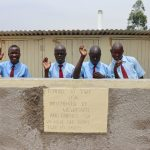 The Water Project: Friends School Vashele Secondary -  Boys At Their New Latrines