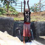 The Water Project: Mahira Community, Jairus Mwera Spring -  Making A Splash