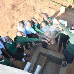 The Water Project: Ebubole UPC Secondary School -  Celebrating With A Splash