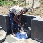 The Water Project: Mahira Community, Kusimba Spring -  Enjoying The Spring Water