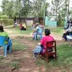 The Water Project: Masera Community, Salim Hassan Spring -  Ongoing Sensitization Training
