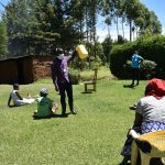 The Water Project: Musutsu Community, Mwashi Spring -  Make A Leaky Tin Or A Tippy Tap Or Any Other Handwashing Station From One Of The Containers At Home Not Under Frequent Use