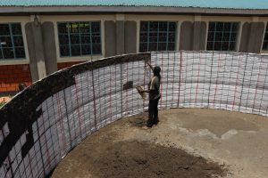 The Water Project:  Inside Plaster