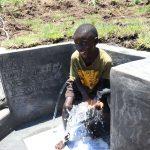The Water Project: Mahira Community, Jairus Mwera Spring -  Obama Celebrating Water