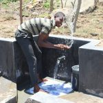 The Water Project: Mahira Community, Kusimba Spring -  Splash