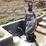 The Water Project: Mahira Community, Jairus Mwera Spring -  Posing At Mwera Spring