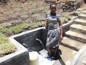 The Water Project:  Posing At Mwera Spring