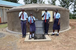 The Water Project:  Students Enjoying Safe Clean Water