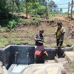 The Water Project: Mahira Community, Jairus Mwera Spring -  Posing At The Spring