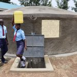 The Water Project: Friends School Vashele Secondary -  Students Fetching Water