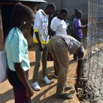 The Water Project: Ebubole UPC Secondary School -  Taking Measurements