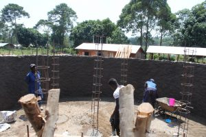 The Water Project:  Preparing Pillar Reinforcement
