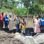 The Water Project: Mahira Community, Kusimba Spring -  Community Celebrates The Spring
