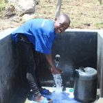 The Water Project: Mahira Community, Kusimba Spring -  Happy Day