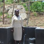 The Water Project: Mahira Community, Kusimba Spring -  Happy For Protected Spring