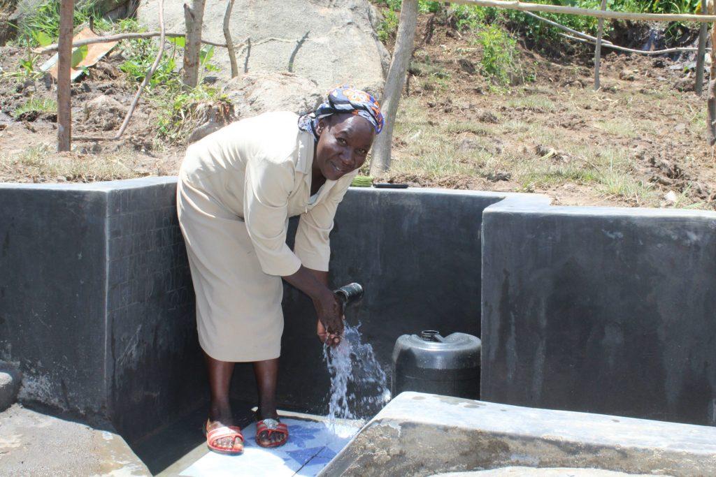 The Water Project : 65-kenya20183-enjoying-the-water-27