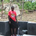 The Water Project: Mahira Community, Kusimba Spring -  Smiles At The Spring