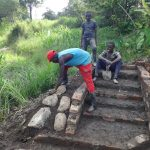 The Water Project: Mahira Community, Kusimba Spring -  Stone Pitching