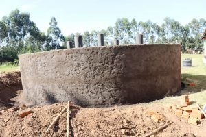 The Water Project:  Plastered Tank