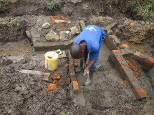 The Water Project:  Stair Construction