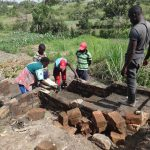 The Water Project: Mahira Community, Kusimba Spring -  Stairs Construction