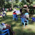 The Water Project: Shilakaya Community, Shanamwevo Spring -  Use Of Charts At The Training