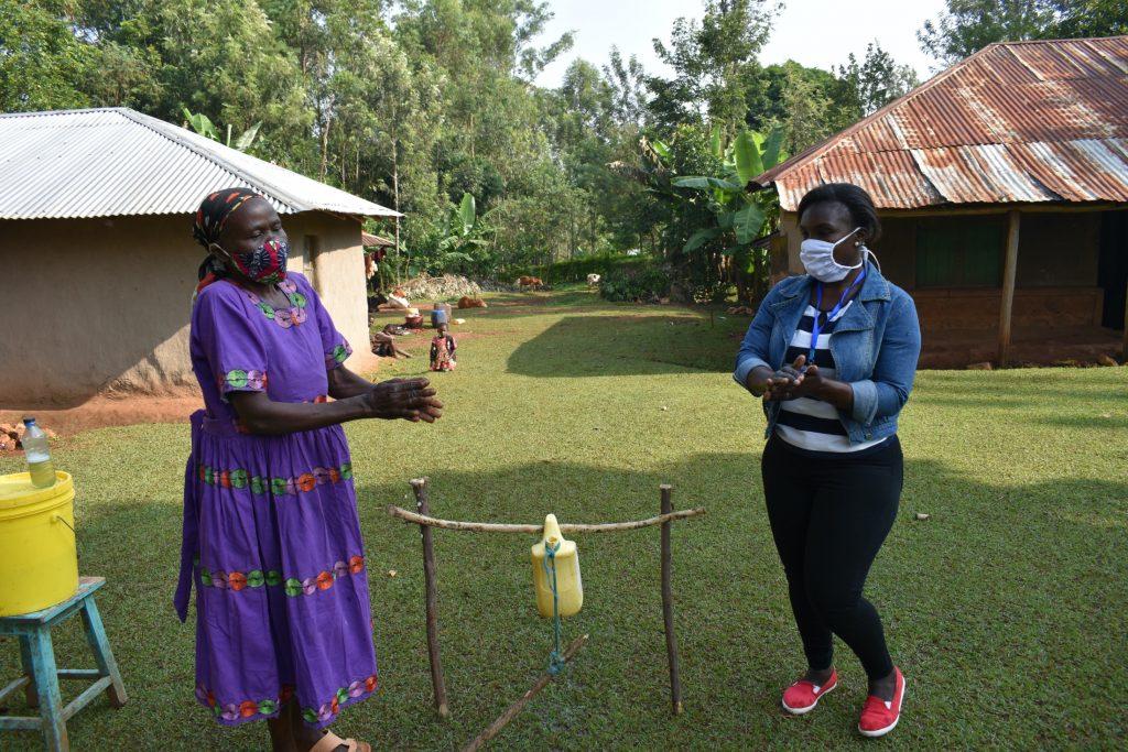 The Water Project : covid19-kenya18103-handwashing-demonstration