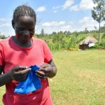 The Water Project: Musango Community, Jared Lukoko Spring -  Mask Making From Home Demonstrations