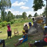 The Water Project: Musango Community, Jared Lukoko Spring -  Ongoing Covid Sensitization Training