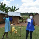 The Water Project: Musango Community, Ham Mwenje Spring -  Demonstrations On Mask Making