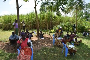 The Water Project:  Participants Practice New Ways Of Greetings
