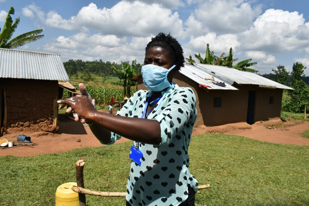 The Water Project : covid19-kenya18114-regular-cleaning-of-hands-keeps-virus-away-2